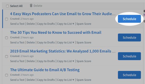 auto-répondeurs-emailing